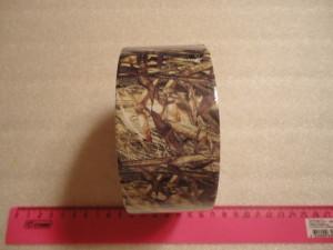 Камуф. лента многоразовая Allen (камыш) 18 м.