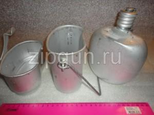 Котелок Десантный комбинированный (3 предмета) (котелок, кружка, фляга)