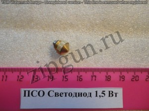 Светодиод к ПСО 1,5В (для пальчиковой батарейки)
