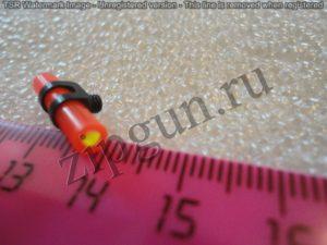Прицельная мушка Advance Group 417 мм, резьба 3 мм. КРАСНАЯ (универсальная)(600.0051)..