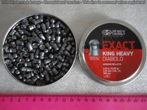 Пули JSBExact King Heavy.25 Diabolo 6,35мм. 2,2гр. (300шт)