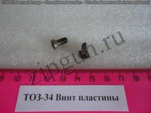 ТОЗ-34 Винт пластины (2)