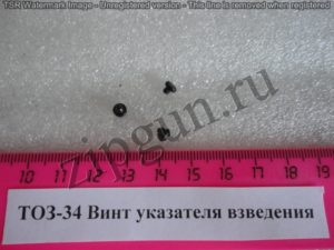ТОЗ-34 Винт указателя взведения (1)
