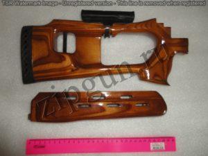 Вепрь (приклад и цевье) СОК-95,94 тип СВД Фанера с подушкой (2)