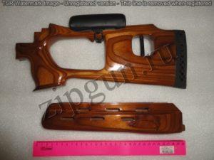Вепрь (приклад и цевье) СОК-95,94 тип СВД Фанера с подушкой (3)