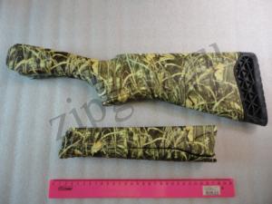 МР-27 Приклад и цевье камуфлированный зеленый камыш (4)